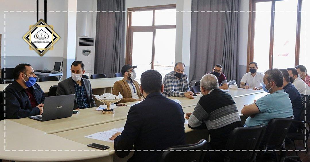 The Scientific Committee Meeting