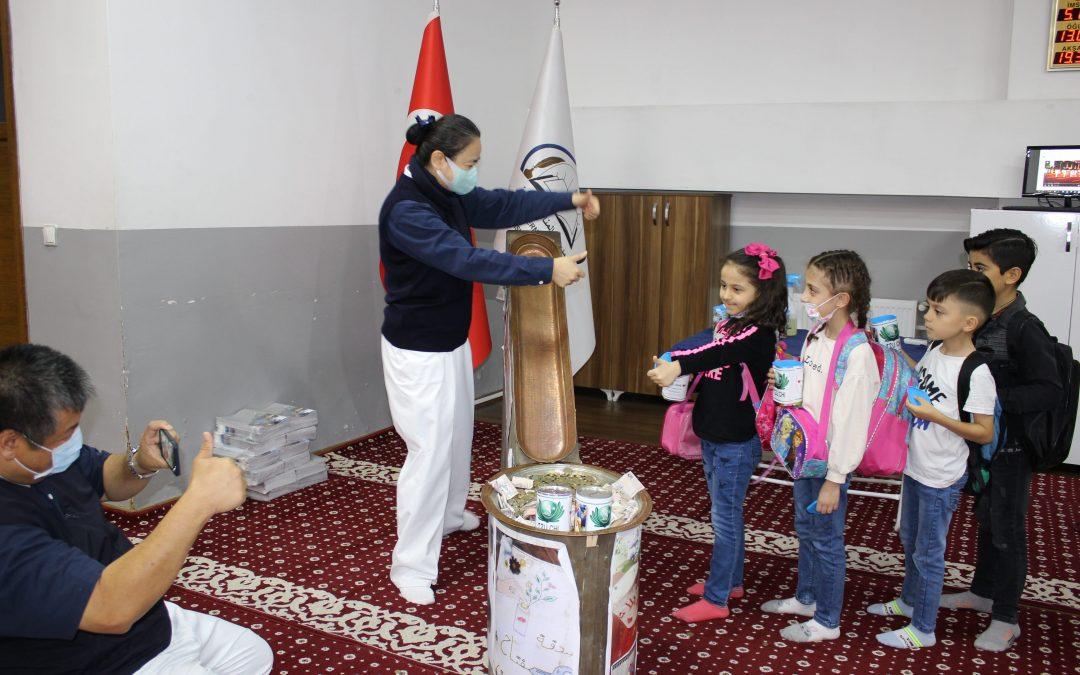 Donations from El Menahil School